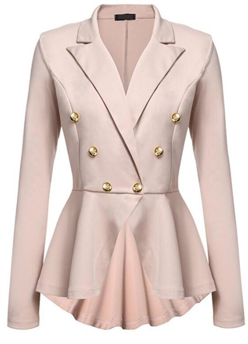 Online Get Cheap White Fitted Blazer Jacket -Aliexpress.com ...