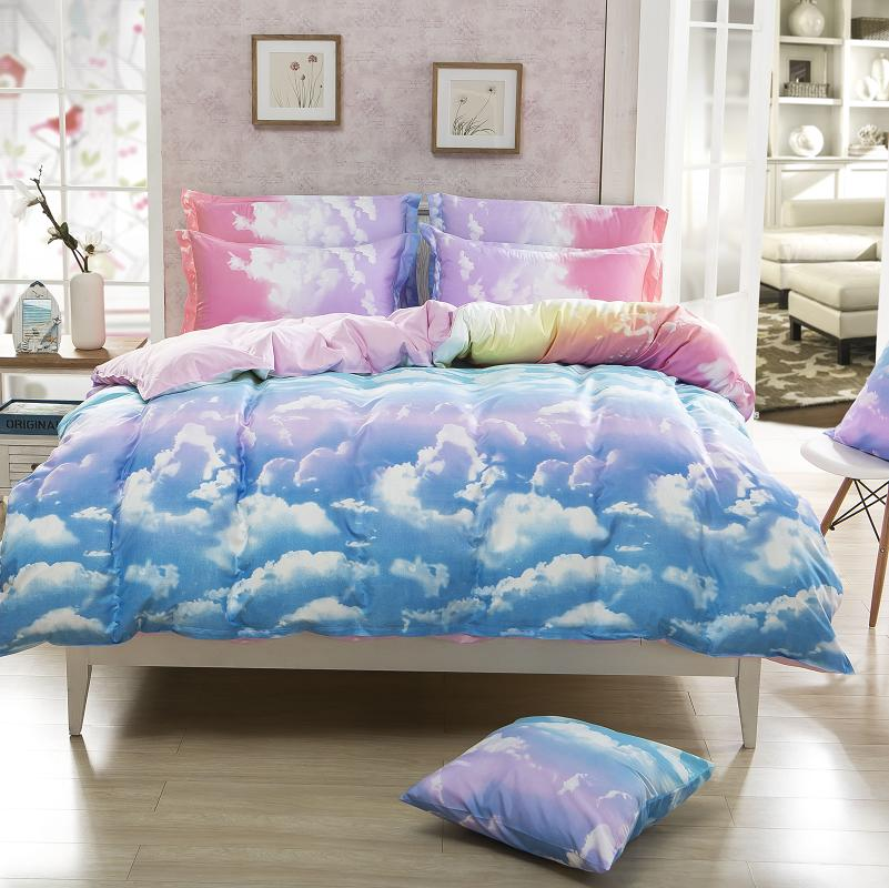 New Style Fashion Style Cloud Bedding Set Queen Full Twin Size Bed