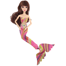 Mermaid Costume Clothes for Dolls Accessories 30cm Jointed Doll Dress Toys Girls