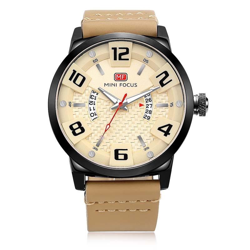 Luksusowa marka MINI FOCUS Mężczyźni Zegarki sportowe Męski zegar - Męskie zegarki - Zdjęcie 2