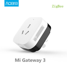 2017 Xiaomi Smart Home Gateway 3 ,Aqara Smart Light Control ZiGBee/Wifi  Wireless Key and Wall Switch Via Smarphone APP Remote