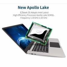 Jumper EZbook 3S Laptop 14 inch 6GB 256GB 10000mAh Battery Windows 10 Intel Apollo Lake N3450 Quad Core Notebook computer