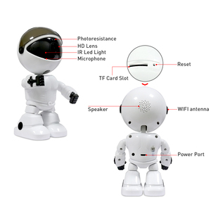 Image 5 - 1080P Cloud Home Security IP Camera Robot Intelligent Auto Tracking Camera Wireless indoor WiFi CCTV Camera Surveillance Camera