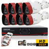 SUNCHAN HD 1 3MP 1500TVL Outdoor CCTV Surveillance System 8CH 720P 1080P HDMI AHDM DVR 960H