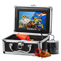 "HD 1000TVL Profissional Underwater Camera Pesca Fish Finder Video Recorder DVR 7 ""w/Infrared IR LED luzes"