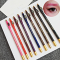 1 Pc Waterproof Eyebrow Pencil Eye Brow Liner Pen With Sharpener Lid Makeup Cosmetic Tool