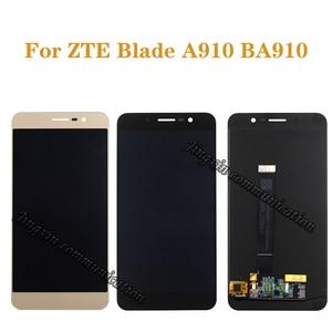 """Image 1 - 5.5 """"العرض الأصلي ل ZTE بليد A910 BA910 TD LTE LCD + محول الأرقام بشاشة تعمل بلمس مكون شاشة الهاتف المحمول إصلاح أجزاء"""
