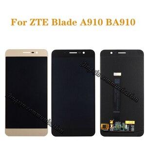 """Image 1 - 5.5 """"affichage dorigine pour ZTE Blade A910 BA910 TD LTE LCD + écran tactile numériseur composant téléphone portable écran pièces de réparation"""