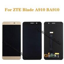 """5.5 """"oryginalny wyświetlacz dla ZTE Blade A910 BA910 TD LTE LCD + ekran dotykowy digitizer komponent ekran telefonu komórkowego naprawy części"""