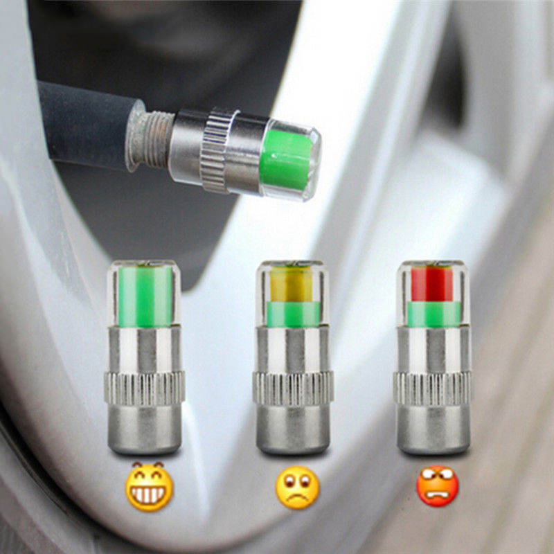 High Quality Car Tire Pressure Gauge Indicator Alert Monitoring Valve Cap Sensor Not For Motorcycle Car Accessories Auto Parts