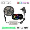 RGB Led Strip SMD 5050 Led Light tape 30 LEDs/M 10 m Waterdichte Flexibele Lint 5 m + DC 12 v Power + RF Rouch Controller
