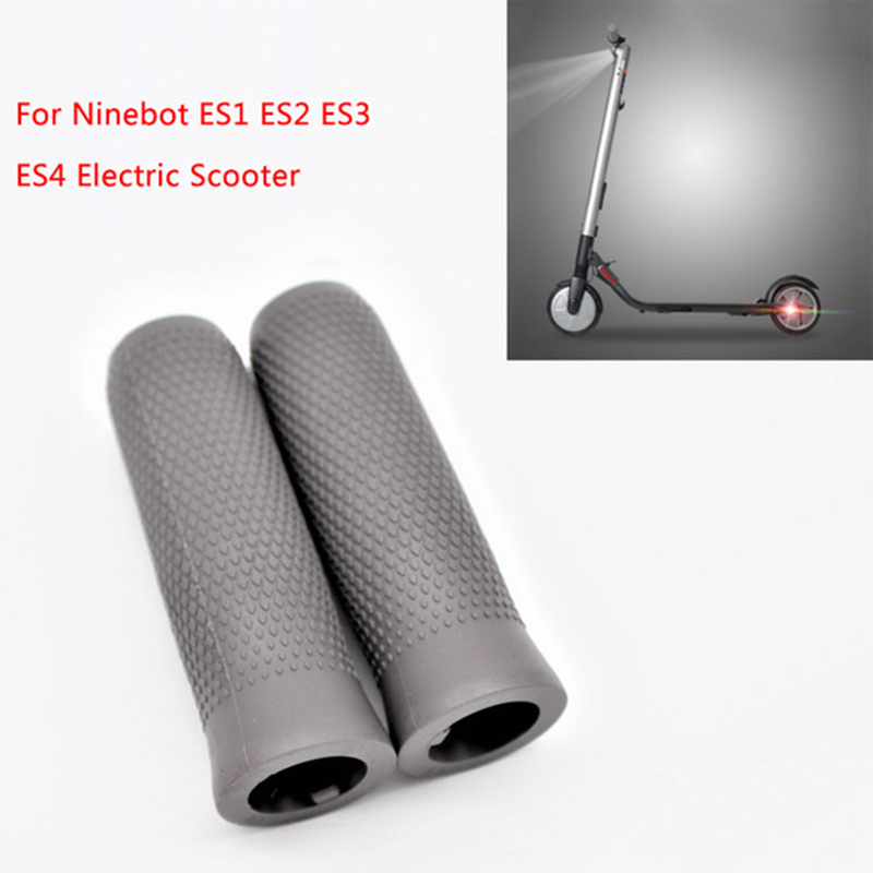Super Sell-Handlebar Hand Grip Parts For Ninebot Es1 Es2 Es3 Es4 Smart Electric Kick Scooter Foldable Skateboard Hand Handle A