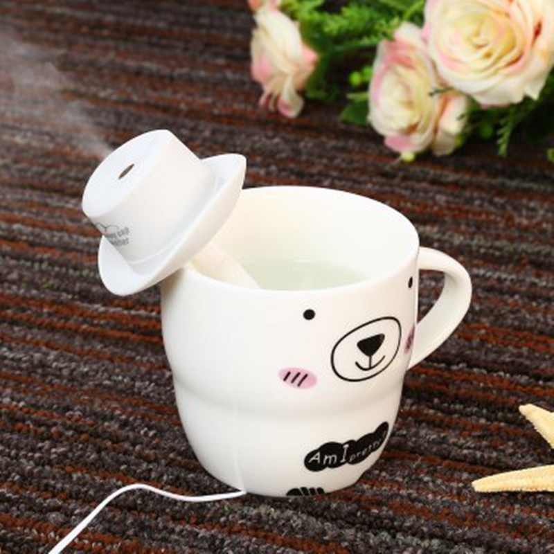 USB Mini Air Portable Humidifier Cowboy Cap Office Household Air Purification Humidifier Aromatherapy Mist Maker For Home