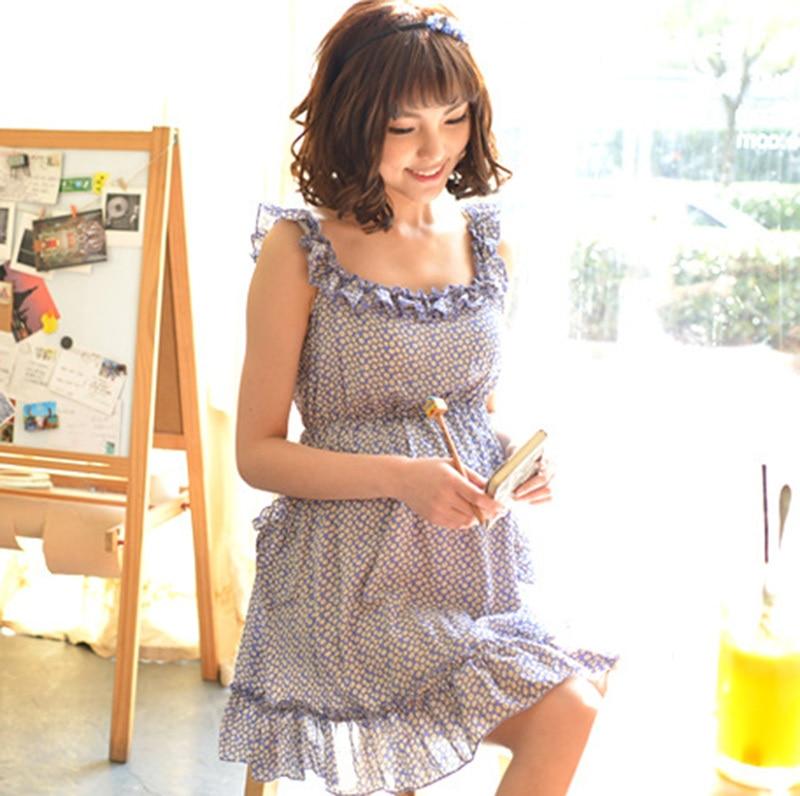 2014 New Fashion Maternity Dresses cotton floral Long ...