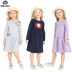 Girls Dress Long Sleeve 2018 Brand Princess Dress Girls Clothes Animal Vestidos Children Costumes For Kids Dresses