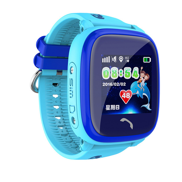 DF25 Children GPS Phone smart watch baby watch Swim IP67 Waterproof SOS Call Location Device Tracker Kids Safe Anti-Lost Monitor 3