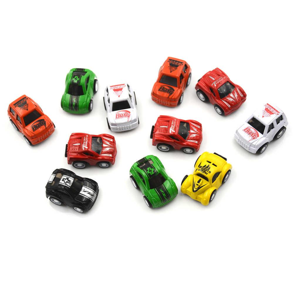 1 pcs מיני מכונית תינוק צעצועי רכב בני מתנות לילדים של צעצוע עוגת קישוט סגנון אקראי שיער diecast דגם צעצוע