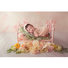 Baby Photography Props Girl Princess Iron Cot Posing Bed for Shooting Studio Newborn Tric Boy