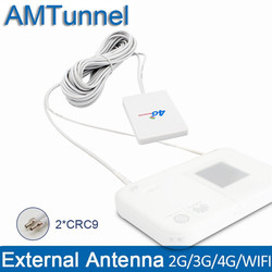 WIFI antenna CRC9 3G 4G Modem antenna 28dBi  LTE router antenna 5m cable for Huawei E3272, EC3372 Vodafone K5160 ZTE Router