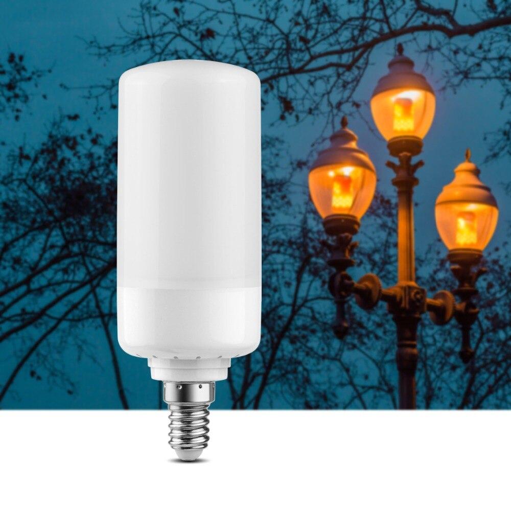 Lights & Lighting Punctual 110v 220v Led Flame Effect Fire Light Bulb E27 E26 E14 B22 Emulation Fire Flickering Lamp Festive Fairy Garland Decor Led Lamp Structural Disabilities