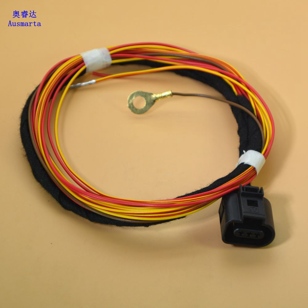 1 Pcs Electronic alarm horn wiring harness For VW GTI Passat Touareg A4 A5 A6 A7 aliexpress com buy 1 pcs electronic alarm horn wiring harness Dune Buggy Wiring Harness Kit at n-0.co