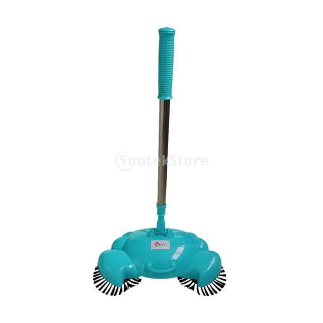 Household Hand Push Sweeping Machine Broom Room Floor Dust Sweeper Vacuum  Cleaner Mop