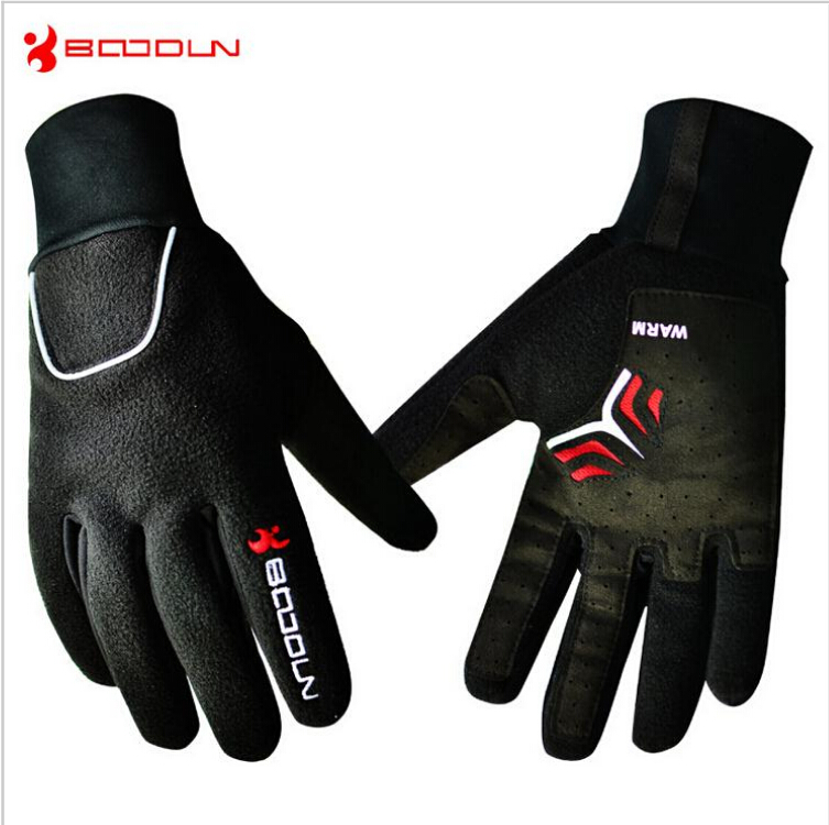 Motorcycle Gloves Winter Warm Waterproof Windproof Protective Gloves 100% Waterproof for men women gloves boodun S-XL 2016 New