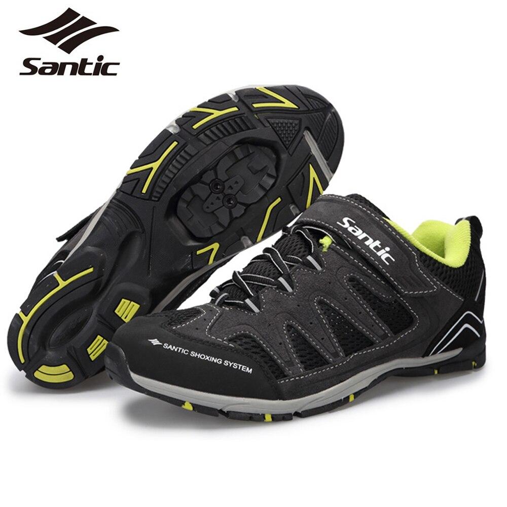 Santic Men Mountain Bike Cycling Shoes MTB Shoes Athletic ...