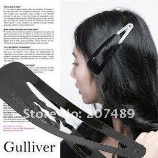 fashion DIY princess HAIR CLIP black hairpin simple style Accessories decoration whcn+