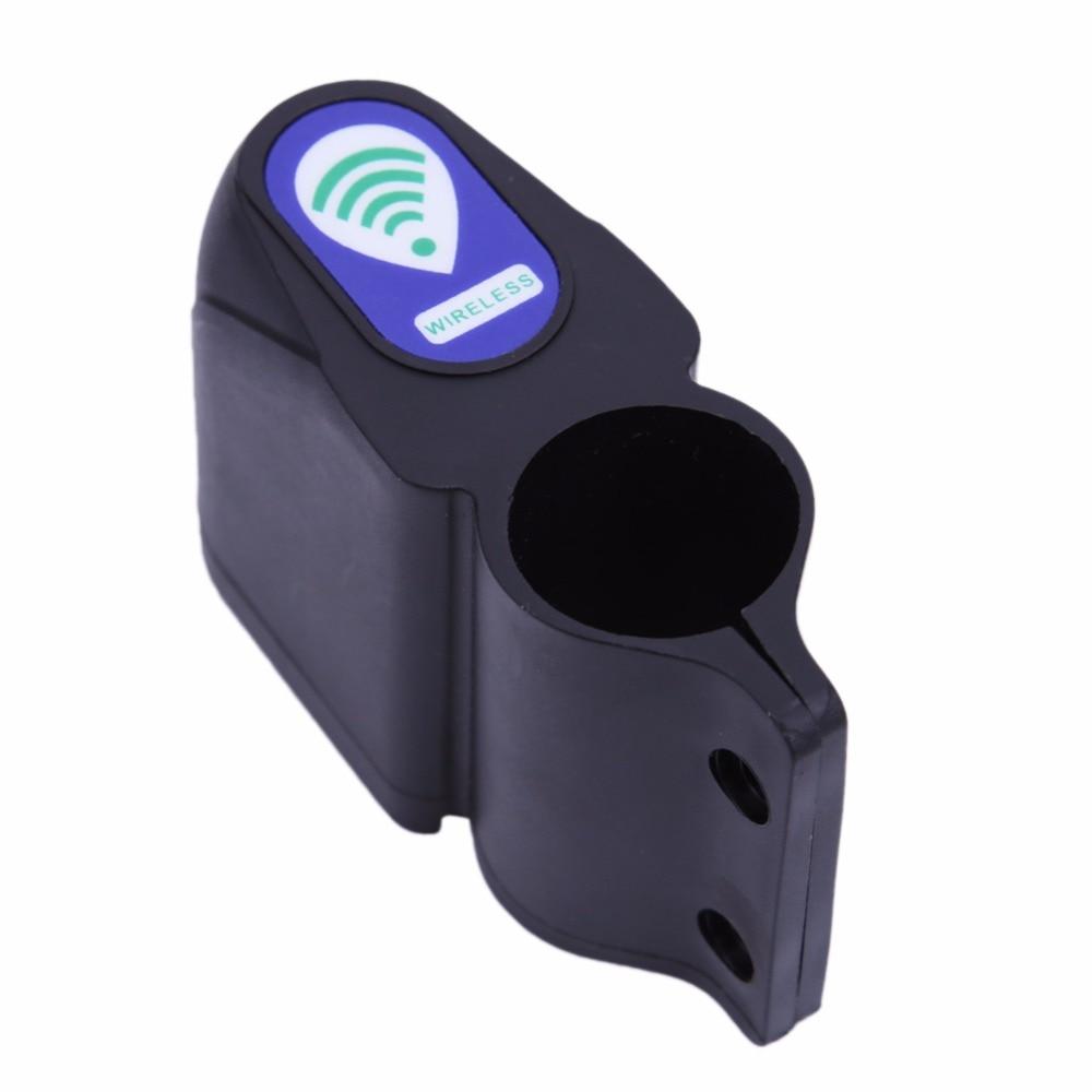 Mini Anti-theft Wireless Remote Control Bike Alarm Siren Locks Shock Vibration Sensor...