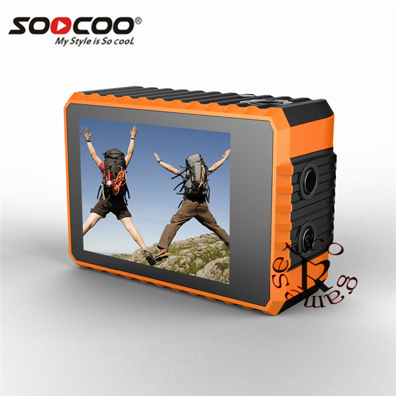 SOOCOO S100 Action Camera 4K WiFi Sports DV Full HD 1080P Gyro 30m Waterproof Diving Mini Camcorder 2.0 inch Sport Cam NTK96660 soocoo s100 pro 4k wifi action video camera 2 0 touch screen voice control remote gyro waterproof 30m 1080p full hd sport dv