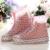 Mulheres Plana Sapato Cobre À Prova D' Água Engrossar Shoescovers Wearable Calçados Capas de Chuva de Viagem Ao Ar Livre Coração Vermelho