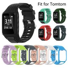 Newest Watchband For TomTom Runner 2 3 Watch Spark 3 GPS Replacement Wrist Band Smart Accessories Runner 2 3 Adventurer Golfer 2 high quality removeable fairy shape diy 3d background mirror effect wall sticker