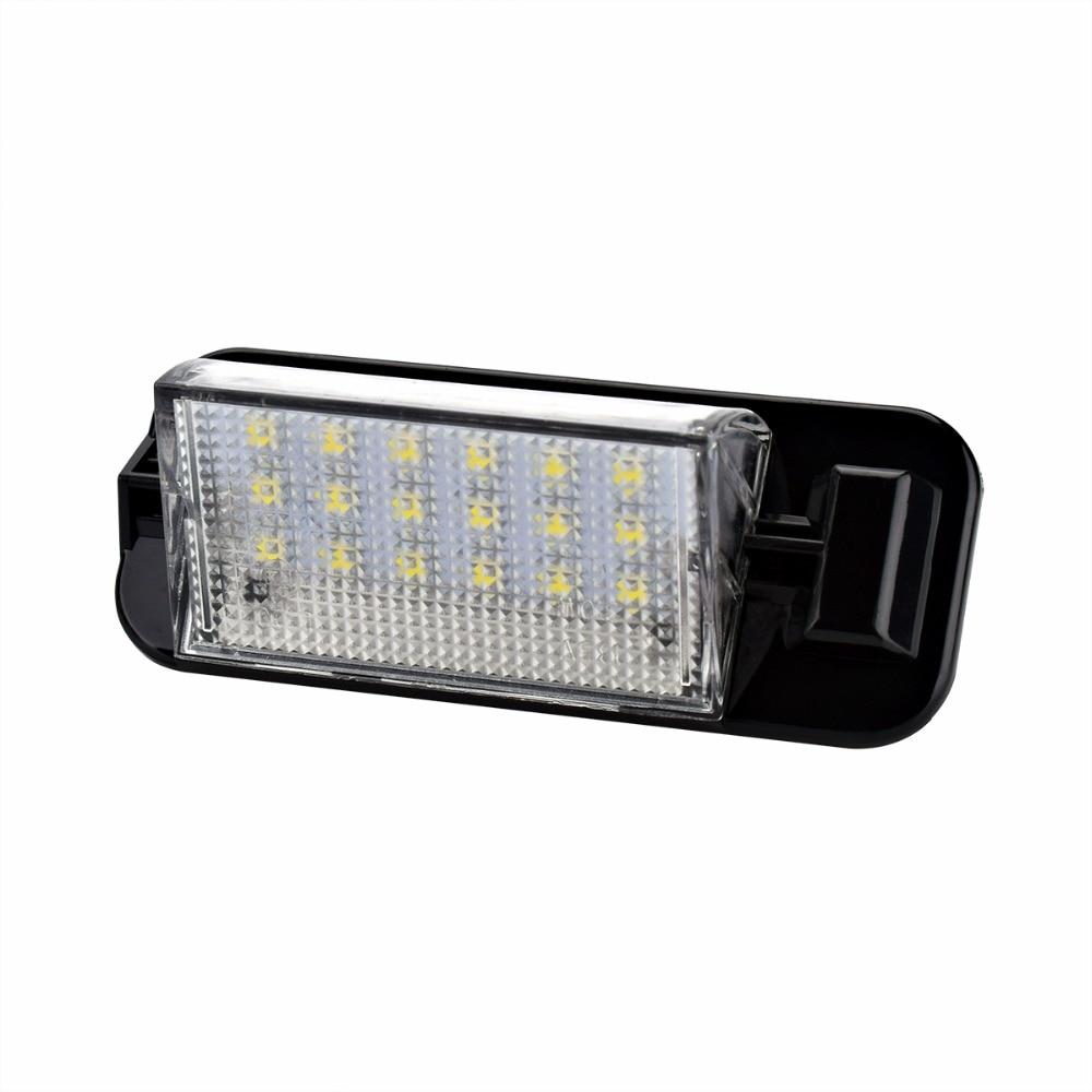 2 PCS 6000K Car LED Number License Plate Lights LED Bulb For BMW E36 318 320 323 325 328 M3 2pcs car lights 24smd led number plate light lamp bulbs rear led license plate lights for bmw e38 led number lamp free shipping