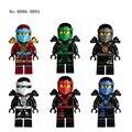 Ninja figuras de ação Building Blocks brinquedos Skylor Lloyd Cole Zane Jay Kai Chen Nya Pythor NINJAGOES presente Bricks Compatíveis