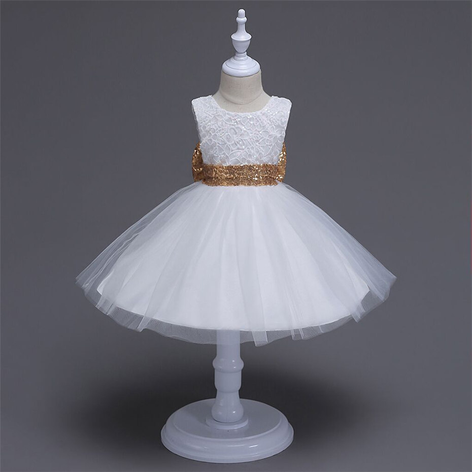 1-4Y 2017 Summer Dresses for Girls Princess Birthday Party Dress Children Infant Baby Girl Costume Kids Clothes Vestido Gown z93 girl spring summer princess dress infant party dress 2015 unicorn print children kids dress for girls autumn dresses