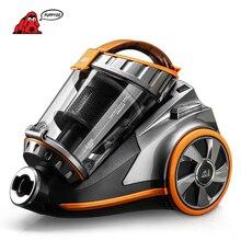 Puppyoo 270 grados giratoria cepillo aspirador hogar aspiradora potente bote de limpieza multifuncional electrodomésticos d-9005