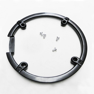 Bike Crankset Shield For M430 M590 M390 Bicycle Plastic Protect The Market Cover 44T Dental Plate Chainring with Screws(China)