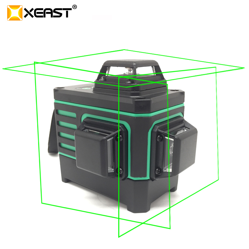XEAST 12 line 3D laser level XE 360G 360 Vertical And Horizontal Self leveling Cross Line