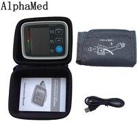 Arm Blood Pressure Bp Monitor Tonometer Hematomanometer Sphygmomanometer Pulsometros Health Monitors Care For Heart Nonvoice