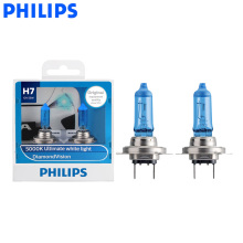 Philips Headlight Halogen-Bulbs 5000K Diamond-Vision 12v 55w Px26d Auto Super 12972DV