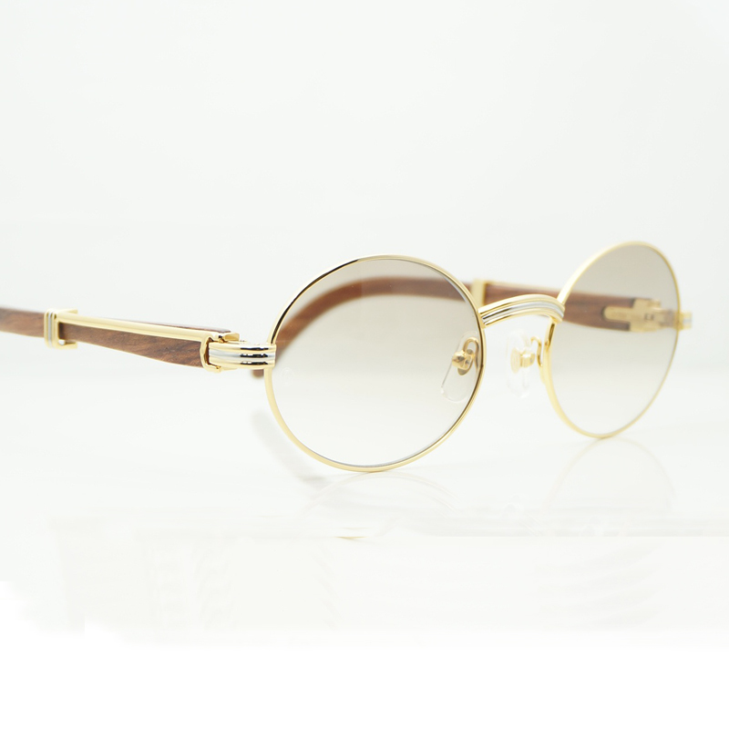 Gafas de sol redondas Vintage hombres Carter gafas de sol ovaladas ... c5e37996b61d