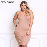 MISS Behave Women Dresses Sundresses Women Plus Size Bodycon Dress Lace Grey Pink Tank Tops Women