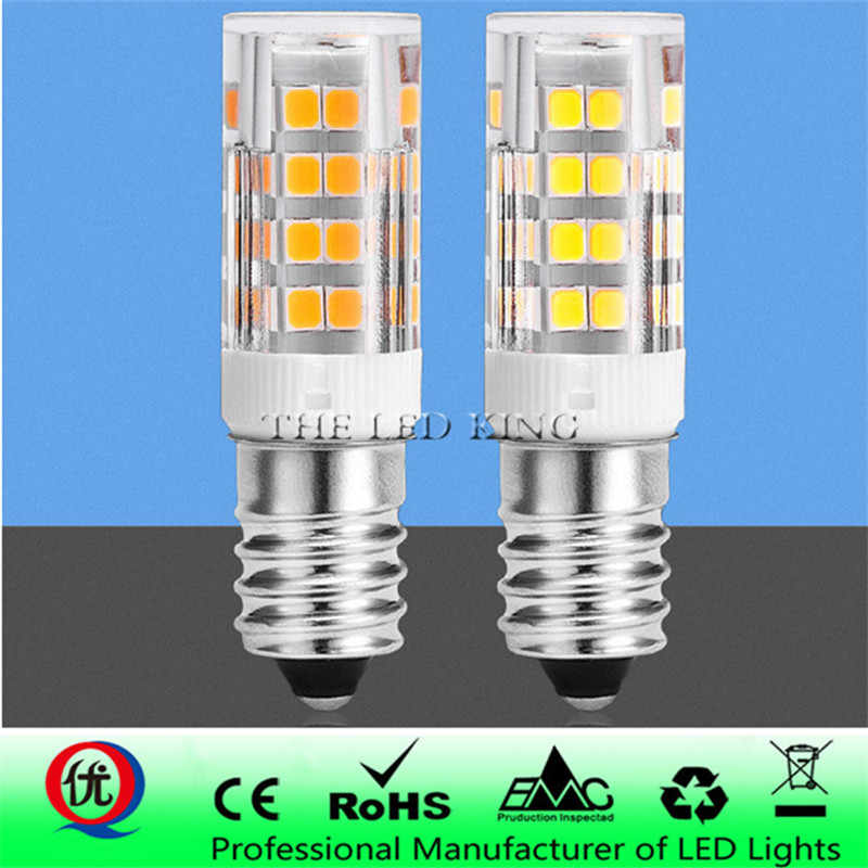 360 Degree Halogen E12/E14 33PCS LED Light Bulb 7W 220V SMD Ceramic Lamp Replace For Candle Crystal Chandelier Refrigerator
