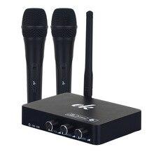 Microfone de karaokê sem fio microfone mikrofon karaoke player ktv karaoke echo sistema de som digital mixer de áudio micek2 máquina de cantar
