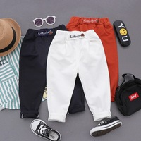 Sports Boys Pants Autumn Pants For Boys Solid Kids Trousers For Boys Winter Kids Pants Teenage Clothes For Boys