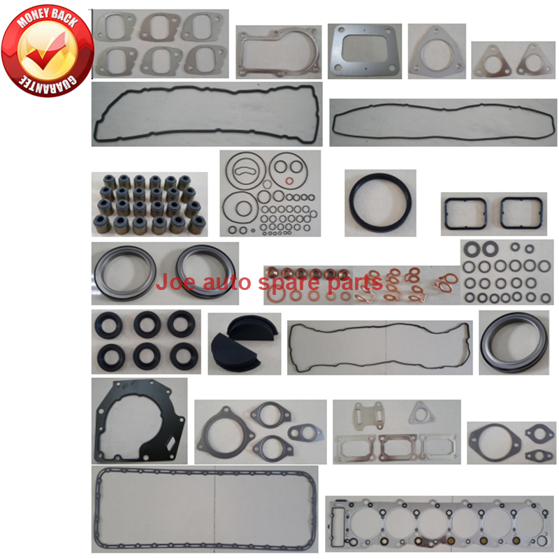 6HK1 6HK1T 6HK1-TC Engine Full gasket set kit for Isuzu Hitachi EX300-<font><b>7</b></font> Offway Hitachi ZAXIS 330 350 Fiat Earth Moving image