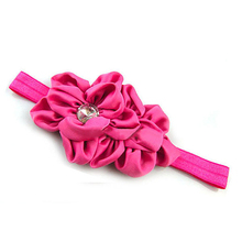 Hot Colorful Baby Girls Chiffon Headband Hairbow Hairband Hairwear  Good for Taking Photo Beauty Accessories 5BWL 7EV9