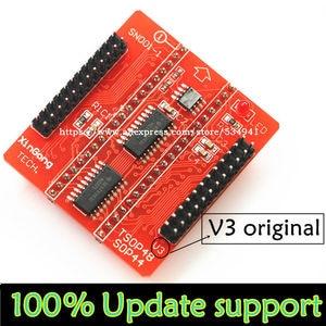Image 2 - מקורי V3 בסיס מתאמי SOP44 TSOP48 מתאם שקע עבור Minipro TL866 TL866CS TL866A TL866II בתוספת אוניברסלי מתכנת