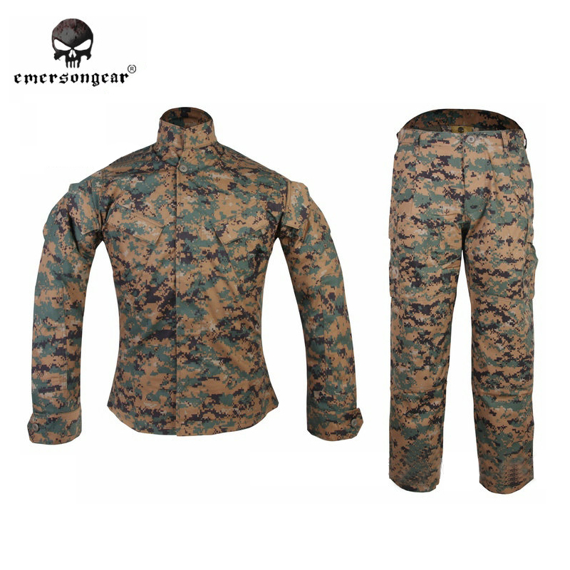 Emersongear lowest price ,2016 NEW bdu Jungle Digital Combat shirt & Pants Military Army